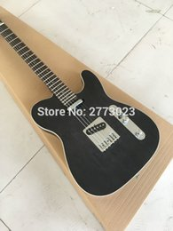 Wholesale Transparent String Body - NEW Wholesale high-quality Custom Shop TL transparent black electric guitar, standard record - guitar, factory direct supply