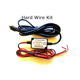 Wholesale Kit Dash - Wholesale- Micro USB 3.5m Car Hard Wire Kit for Mini 0803 mini 0805 mini 0806 car Camera Dash camera hardwire kit