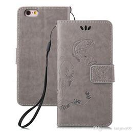 Pour iphone 6 / iphone 6S affaire luxe rétro PU portefeuille en cuir Flip Phone cas belle mode intaglio couvercle de la fleur en gros ? partir de fabricateur