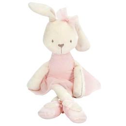 Wholesale Animals Puppets - Wholesale-Kawaii 42cm Large Soft Stuffed Animal Bunny Rabbit Toy Baby Girl Kid