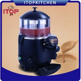 Wholesale Chocolate Dispenser - ITOP Electric Baine Marie Mixer.chocofairy 5L Commercial Hot Coffee Milk Wine Tea Dispenser Machine 5L Chocolate machine