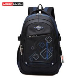 Wholesale Magic Zip - MAGIC UNION Children School Bags High Quality Nylon Backpacks Lighten Burden On Shoulder For Kids Backpack Mochila Infantil Zip