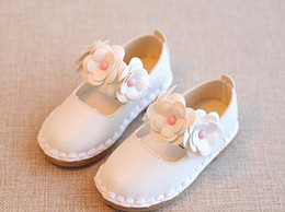 Wholesale Girl Big Bottom - 2017 spring and autumn new children's shoes girl princess beef tendon bottom baby shoes big children