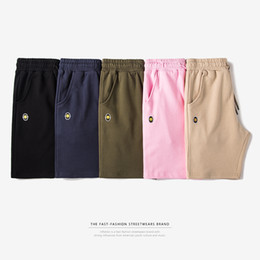 Wholesale Skinny Sweat Shorts Men - Wholesale- INFLATION 2017 New Arrivals Mens Pocket Sweat Shorts High Quality Joggers Casual Hip Hop Loose Short