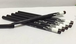 Wholesale Automatic Eyeliner - 12pcs2017Free Shipping new makeup 2colors kylie Waterproof black brown Automatic eyeliner penci l