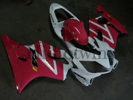 Wholesale Gray F4i Fairings - Body Kit white pink ABS Fairing For honda CBR600F4i 2001-2003 F4i 01 02 03 Aftermarket Motorcycle