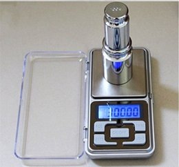 Wholesale Digital Scales Wholesale - Electronic Digital Jewelry Scales 200g [0.01g Sensitivity] LCD Digital Pocket Scale Silver Electronic Scale Grams