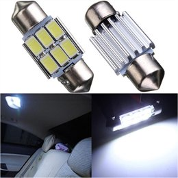 Wholesale Product Licenses - 10Pcs Hot Products Festoon 31mm 6SMD 5630 LED CANBUS No Error Car Interior Reading Dome light DC12V