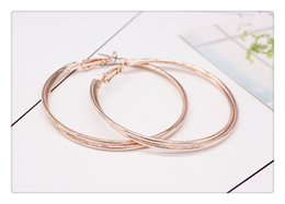 Wholesale Diamante Heart Earrings - Brand New Hot Women Crystal Diamante Rhinestone Silver Plated Hoop Round Earring Jewelry Free Shipping