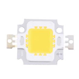 Wholesale Spotlight Flood High Power Lamp - Wholesale- 2pcs 10W High Power Integrated LED lamp Beads Chips SMD Bulb Warm White For DIY Flood light Spotlight