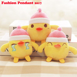 Wholesale Men Cock Toys - Cute Chicken Plush Toy 10cm Cartoon Kawaii Home Decoration Hen Cock Doll Baby Birthday Gifts keychain cute chicken plush pendant