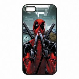 Wholesale Iphone Superhero Cases - Superhero Deadpool Phone Covers Shells Hard Plastic Cases for iPhone 4 4S 5 5S SE 5C 6 6S 7 Plus ipod touch 4 5 6