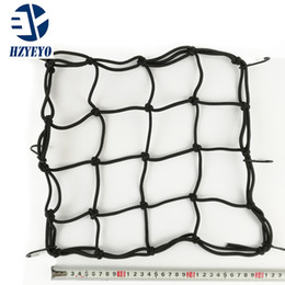 Wholesale Helmet Bags - Free Shipping Motorcycle helmet luggage net bag strap tank debris knight equipment elastic rope net cover refit accessories