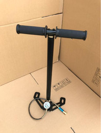 Wholesale air paintball - 4500PSI hunting pcp pump 300bar Three stage high pressure paintball air pump PCP bomba 1 piece lot