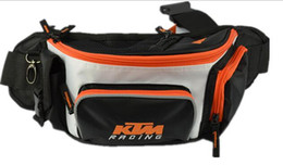 Wholesale Oxford Motorcycles - 2017 new racing bags model motorcycle bags KTM chest bags Knight's pockets leg bags sports bags ktm waist pack waist pack