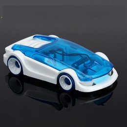Wholesale Solar Water Toy - New energy toy Solar and Salt Water Hybrid Car Solar Power Toy Salt Water toy car For Children Gifts