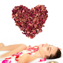 Wholesale Natural Red Rose Dried Petals Buds Organic Bath Soap Spa From China Yunnan Great Gift
