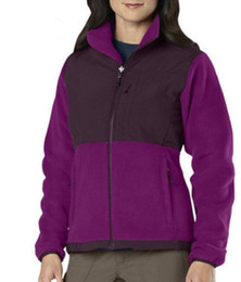 Wholesale Winter Jacke - 2017 HOT New Winter Women's Fleece Warm Jackets Pink Ribbon For Ladies Windproof Coats Outdoor Casual Soft Shell Down Ski Sports Jacke