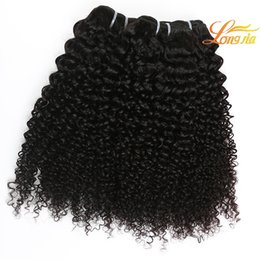Wholesale Raw Indian Hair Curly - 7A vip beauty raw indian hair kinky curly hair extensions indian Human hair deep curly weave wholesale indian Virgin human 4 bundles