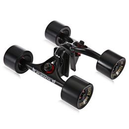 Wholesale Skateboard Tools - 2pcs   Set Skateboard Truck with Skate Wheel Riser Pad Bearing Hardware Accessory Installing Tool for Skateboard New Arrival +B