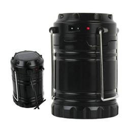 Canada Lanterne pliante Portable Extérieure LED Camping Lantern Résistant À L'eau Ultra Lumineuse Lampe De Poche Lampe Pour Randonnée Camping Occasion D'urgence Offre