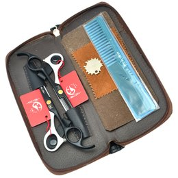 Wholesale Hairdressing Scissor Tool Bag - 5.5Inch Meisha Professional Hairdressing Scissors Set JP440C Hair Cutting & Thinning Scissors with Bag Barber Salon Tool,HA0207