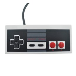 Wholesale Computer Game Handle - NES wired handle controller PC USB nes computer game handle Retro handle USB NES Controller