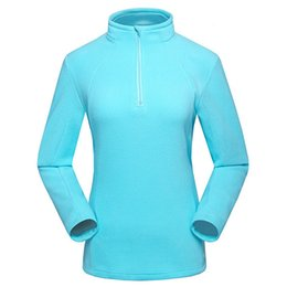 Wholesale Female Ski Jackets - New Women's Winter Fleece Softshell Jackets Outdoor Sports Thermal Brand Clothing Coats Hiking Camping Skiing Female Coats VB031 A003