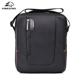 Wholesale Cell Phone Envelope Cases - Wholesale- Kingsons Brand Waterproof Messenger Bag Nylon Men's Business Bags Travel School Case Tote 9.7'' for Ipad