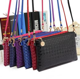 Wholesale Wholesale Party Seasons - Wholesale Woman Shoulder Bags 9 Colors Available Multifunctional Fashion Wallet Purse Party Bags for Summer Season 19.5*11*2 10 pcs lot