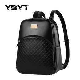 Wholesale Candy Color Vintage Backpack - Wholesale- YBYT brand 2016 vintage casual rucksack high quality women candy color clutch ladies mobile purse famous school student backpack
