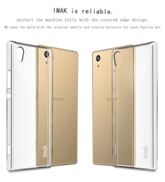 Wholesale Crystal Case Cover Retail Package - Original Imak wear-resistant crystal case for Sony Xperia XA1 Ultra hard case protector cover with retail package