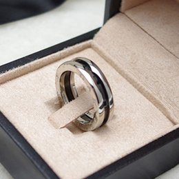 Wholesale china gear - Red charity version of the ring Years gear titanium steel couples ring ceramic ring upgrade arc version