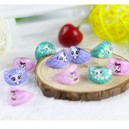 Wholesale Resin Squirrels - wholesale 500 Pcs Lot Mix New Party Gift Bag Fit squirrel Kid Resin Rings Children Lovely Present
