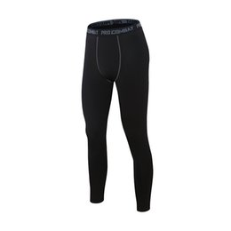 Wholesale Wholesale Wrap Pants - Men's Sports Tights Pants Outdoor Running Riding Fitness Pants Quick Dry Wrapping Lycra Tights Pants Men Wholesale