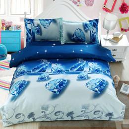 Wholesale 3d Rose Pillow Case - Wholesale-Home Textile 2016 HOT 3d Bedding Sets Rose Flower Bed Cover Bed Linen Bed Sheet Pillow Case Queen Bedding Set
