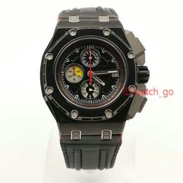 Wholesale Michael Watch Men - Wholesale New 2016 Offshore Michael Schumacher Black Leather Bracelet Quartz MAN WATCH Wristwatch New Arrival