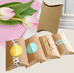 Wholesale Good Recycling - Direct Deal Carton Goods In Stock Box Cowhide Pillow Case Cowhide Container European Gift Wedding Party Favour Quality 0 38jy H