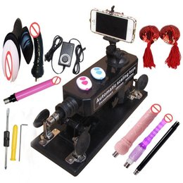 Wholesale Sexual Machines For Men - Luxury Sex Machine Gun with Dildo and Masturbation Cup, Automatic Sexual Intercourse Machine for Men Women Free Gift Breast Nipple Stickers