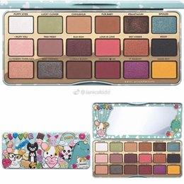 Wholesale Makeup Girl Cosmetic - 2017 IN STOCK! Newest Faced Makeup TF face Clover Palette A Girls Best Friend Eye Shadow 18 Colors Eyeshadow Matte Palette for Eye Cosmetic