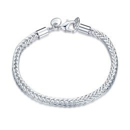 Wholesale Wholesale Zipper Bracelet - New Fashion Ladies 925 Silver Chain bracelet Round ZIPPER Chain Bracelet For Women good Xmas gift