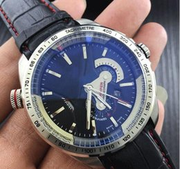 Wholesale Mens Auto Wind Watches - New limited TAG Brand Luxury Watch Hand-winding Mechanical Auto Leather Watch CALIBRE 36 RS CALIPER CAV5115.FT6019 Mens Sports dress Watches