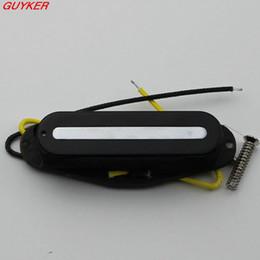 Wholesale Guitar Pickups Single Coil - Korea Monorail track single cold black single coil electric guitar pickups GSXTN