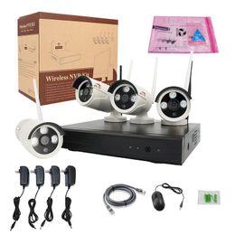 Wholesale Wholesale Cctv Kits - security camera long range wireless cctv camera system wifi ip camera with nvr kit