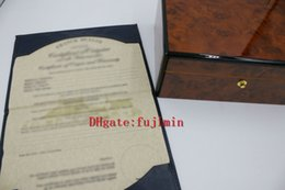 Wholesale Antique Card Box - New Luxury watch Box FR ANCK Swiss Original Brand Boxes with English Papers Watches Booklet Card Gift For Man Women Sale