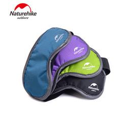 Wholesale Eye Shade Mask Blinder - Wholesale- Naturehike Nylon Breathable Lavender Filler Sleeping Eye Mask Blindfold Nap Eyes Cover Shade Blinder Travel Kits 4 Colors 88g