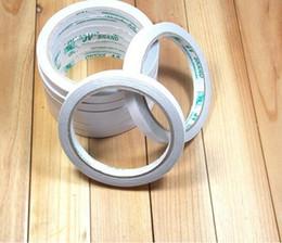 klebeplatte Rabatt Wasseraktiviertes doppelseitiges Klebeband Büro- und Schulbedarf Klebeband Verpackungsband Breite 0,8 cm, 9,5 m Länge