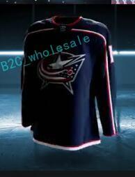Wholesale Brandon Saad Jersey - 2017-2018 Season Columbus Blue Jackets Jersey 3 Seth Jones 7 Jack Johnson 13 Cam Atkinson 20 Brandon Saad 65 Markus Nutivaara Hockey Jerseys
