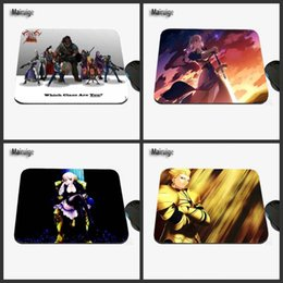 Wholesale Fate Stay Night Game - Fate Stay Night Cartoon Game Custom Designs Animal Images, High-quality Anti-skid Fashion Computer and Laptop Rectangle Mouse Pa