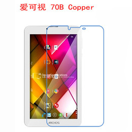 Wholesale fingerprint for pc - Wholesale- 2 Pcs Clear Screen Protector Film Anti-Fingerprint Soft Protective Film For Archos 70B Copper 7 inch tablet